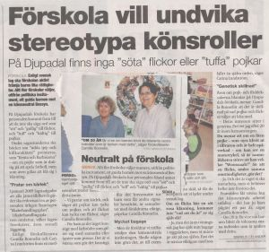 Indoktrinering Genus i förskolan Nov 2011